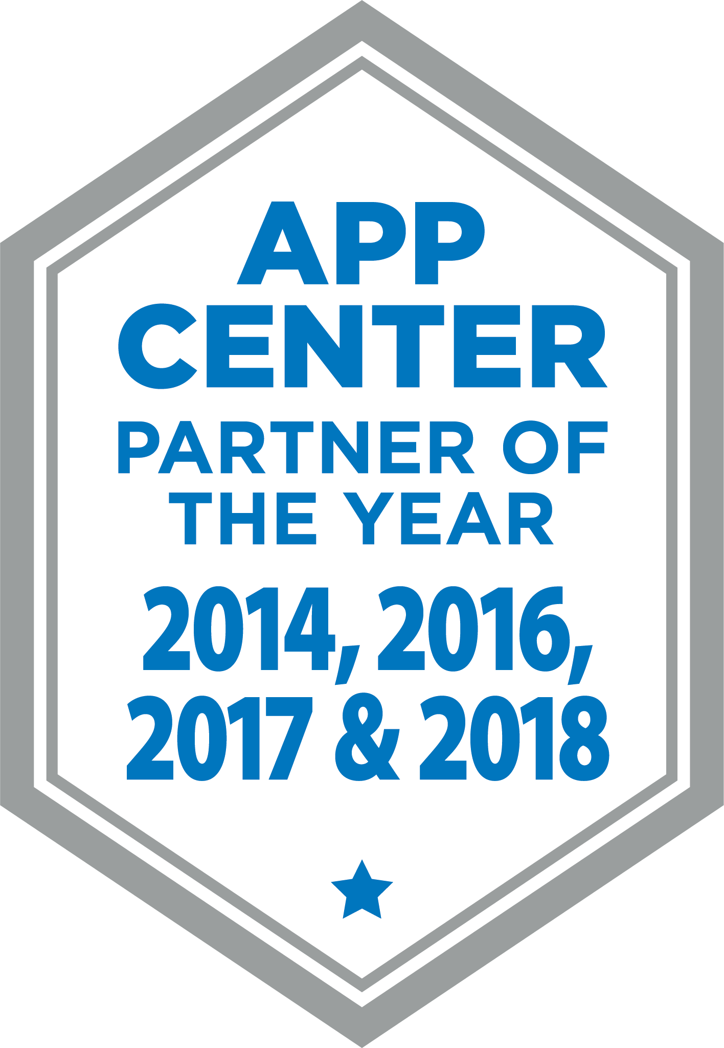 Concur Partner of the Year 2014, 2016, 2017, and 2018